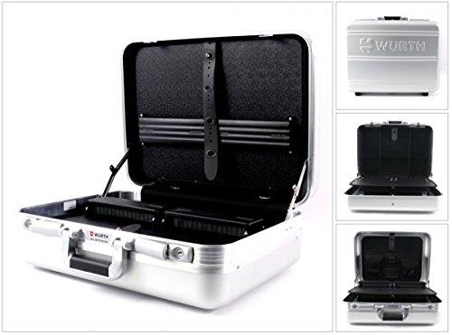 Würth–Maletín de herramientas Aluminio Service maletín (071593011)
