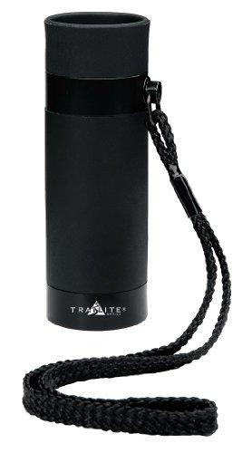 Trailite TL-MTG100BK Optics Monokular mit Entfernungsmesser Motion 5x20 schwarz inkl. Handtrageriemen und Nylontasche