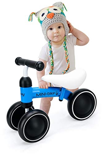 Baby Balance Bike Walker Toy Toddler Bicycle Strider Tricycle,Best First Birthday Gift for Girl and boy in 1 to 2 Years Old,Ride on Toys for Kids,Newborn and Little Child's Riding Vehicle