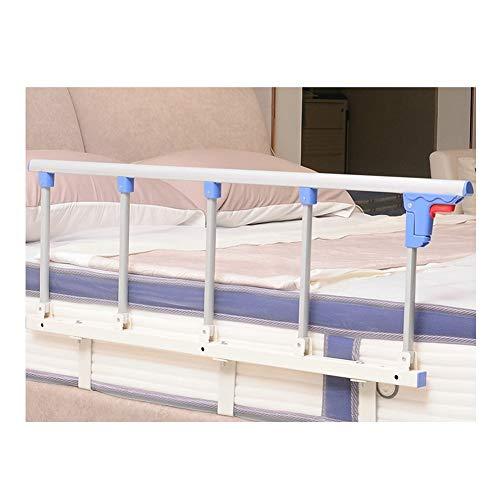 LIQICAI-Bettgitter for Ältere Menschen, Senioren, Erwachsene Bed Assist Bar Hilfe Beim EIN- Und Aussteigen Zu Hause, 2 Größen (Color : White+Blue, Size : 120cmx35cm)