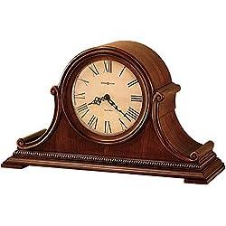 Howard Miller Hampton Mantel Clock 630-150 – Windsor Casual with Quartz, Dual-Chime Movement