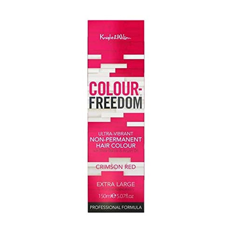 かりてカート同僚[Colour Freedom ] 赤062深紅色の自由度 - Colour Freedom Crimson Red 062 [並行輸入品]