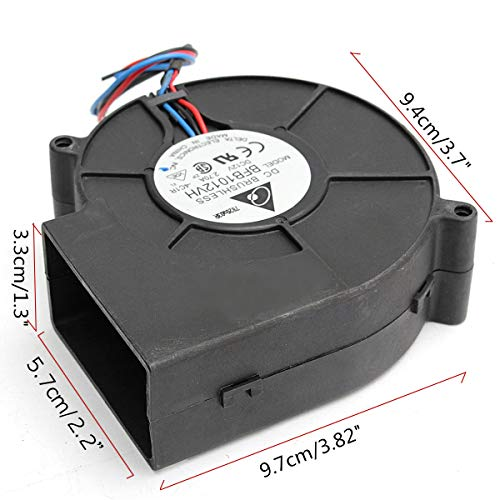 PGSA2Z Dc 12v Air Blower BBQ Cooking Cooler Blower Fan for Barbecue Stove