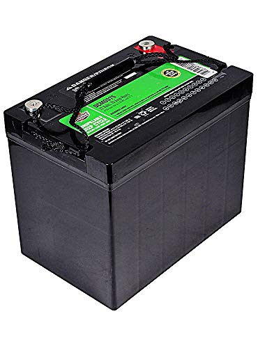 Interstate Batteries 12V 75Ah Deep Cycle Battery (DCM0075) Sealed Lead Acid Rechargeable Battery Insert Terminals (AGM) RVs, Sump Pumps, Wheelchairs, Scooters