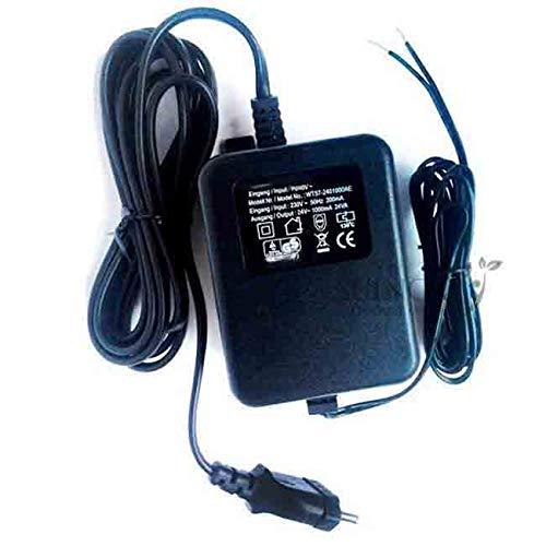 Transformador 220V - 24V AC 1,5 Amperios. Transformador eléctrico utilizado en programadores...