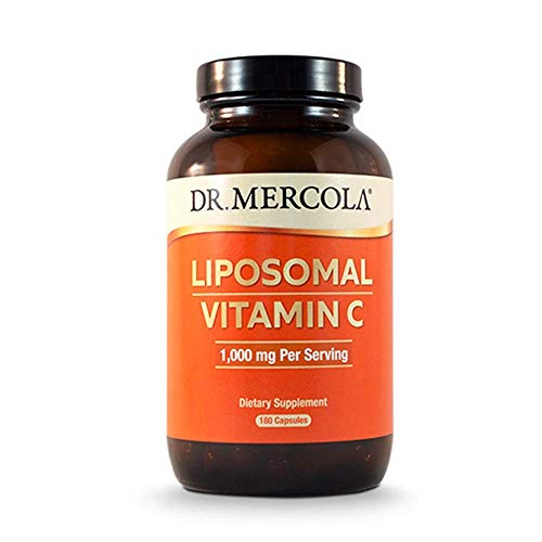 Dr Mercola Liposomal Vitamin C, 1,000mg, 180 Capsules, 90 Days Supply