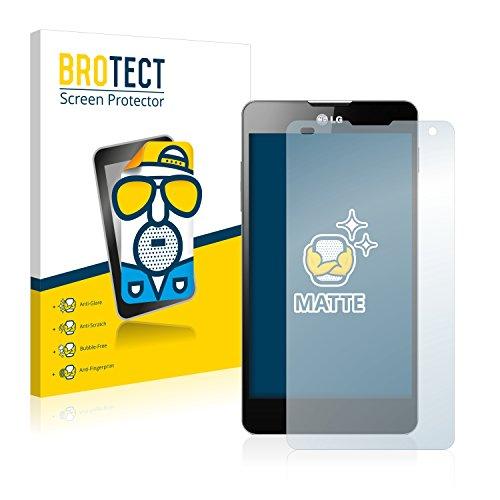BROTECT 2X Entspiegelungs-Schutzfolie kompatibel mit LG Electronics E975 Optimus G Bildschirmschutz-Folie Matt, Anti-Reflex, Anti-Fingerprint
