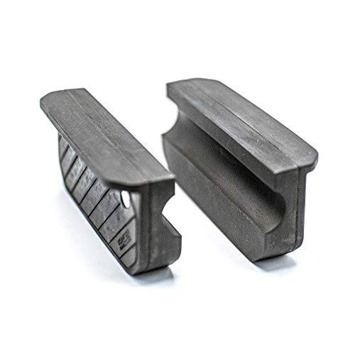 Otis Technology Soft Vise Jaws – General Use, Black