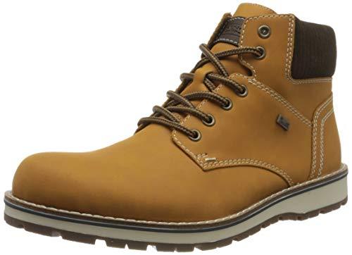 Rieker Herren 38432 Klassische Stiefel, Gelb (Ocker/Moro/Moro 69), 44 EU