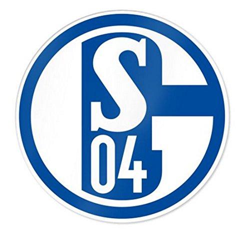 Schalke 04 S04 Maxi Aufkleber Blau Weiß