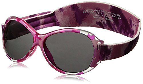 Banz 00245 Sonnenbrille Retro Baby mit elastischem Neoprenband, für Kopfumfang 40-52 cm (circa bis 2 jahre), UV400, rosa