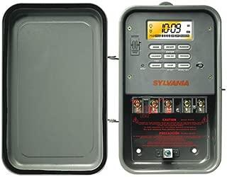 Sylvania 40 Amp 120-Volt Single-Pole Zip Set Outdoor Industrial Timer_SA310