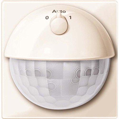 Merten MEG5711-0344 Argus 180 UP Sensor-Modul mit Schalter, weiß glänzend, System M