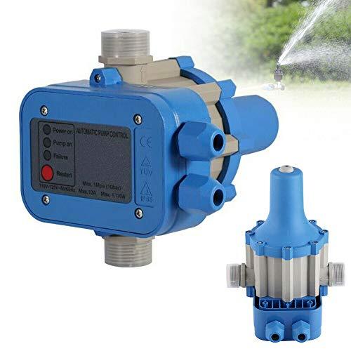 Pumpensteuerung Automatik Pumpe Druckschalter 10 bar mit Baranzeige Druckschalter Gartenbewässerung Hauswasserwerk