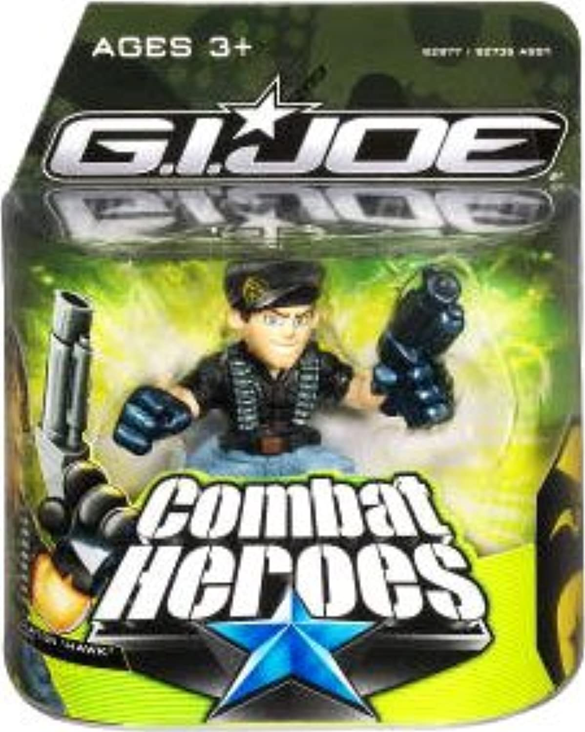 G.I. Joe The Rise of Cobra Combat Heroes Single Pack General Clayton Hawk Abernathy