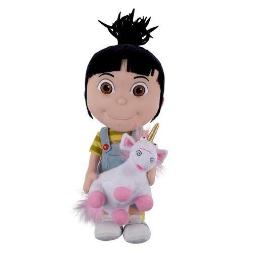 Despicable Me Agnes Holding Unicorn Plush