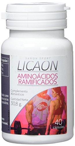 Sanon Sport Licaon, Aminoácidos Ramificados BCCA´S 2:1:1, 618 mg, 40 Cápsulas