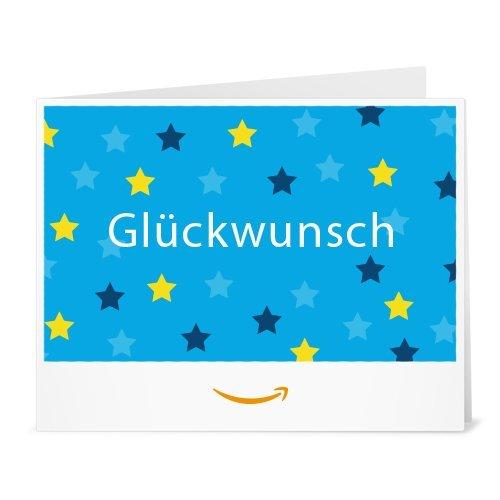 Amazon.de Gutschein zum Drucken (Glückwunsch (Sterne))