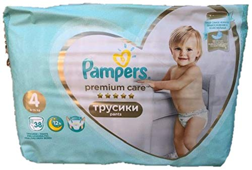 NEU 38 PAMPERS PREMIUM CARE PANTS GR. 4, 9-15 KG
