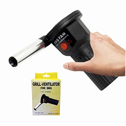 lifBetter Ventilador eléctrico mini para barbacoa al aire libre con gas, cocina...