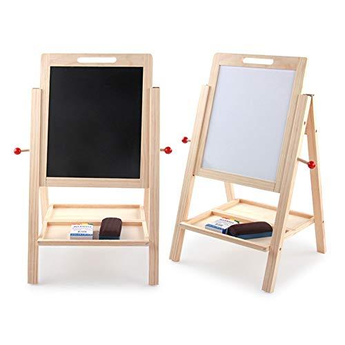 Standing kunstschildersezel dubbelzijdig Whiteboard Schoolbord Makkelijk op te tillen en Draw Board educatief speelgoed for kinderen 410