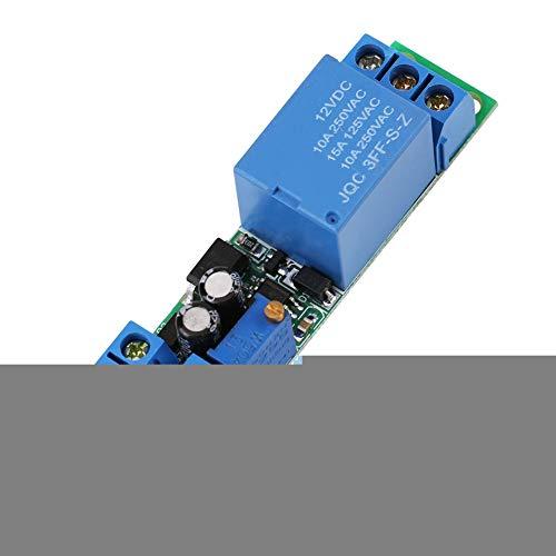 DC12V Einstellbares Signal Trigger Delay Off Timer Schalter Relaismodul Trigger Ausschalten Time Switch Relay Modul