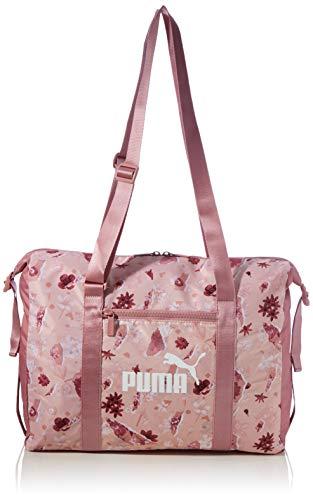 PUMA Women's Wmn Core Seasonal Duffle Bag Sports, Peachskin-AOP, OSFA