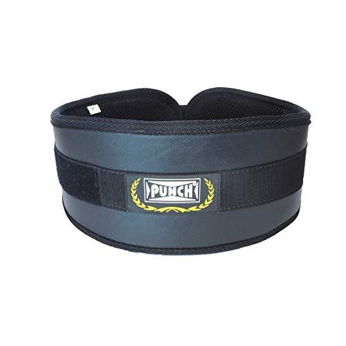 Cinto Musculação Power P Punch Unissex 0,80 Compr. X 0,15 Largura Preto