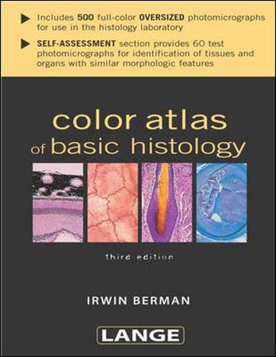 Color Atlas of Basic Histology (LANGE Basic Science)