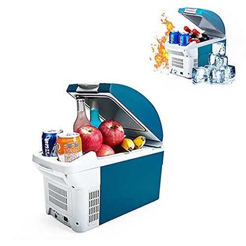 Frigorifero per Auto, Portatile 8,5 LitreCold DC12V Touch Mute, congelatore Frigorifero per Auto Dispositivo di Raffreddamento Scatola di Raffreddamento Dormitorio per Studenti