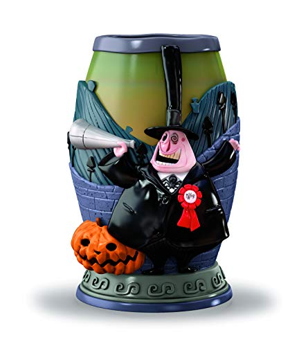 The Nightmare Before Christmas Bathroom Tumbler Exclusively from The Bradford Exchange   Disney Mayor of Halloween Town Officially Authorized Bath Ensemble Collection 'Shout Out To The Mayor' Edition