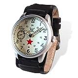 Reloj Wartime URSS Type 1 (Réplica histórica modelo Kirova aviación soviética II Guerra...