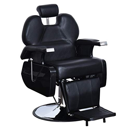 Cheapest Prices! BarberPub All Purpose Hydraulic Recline Barber Chair Salon Beauty Spa Styling Equip...