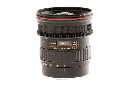 Tokina AT-X 12-28/4,0 V Pro DX Objetivo para Canon Negro