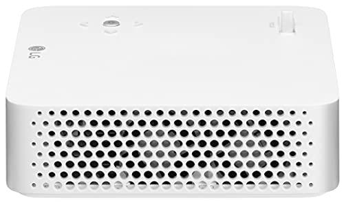 LG Beamer PH30N bis 254 cm (100 Zoll) CineBeam LED HD Projektor (250 Lumen, integrierter Batterie, leichtes Gehäuse) weiß