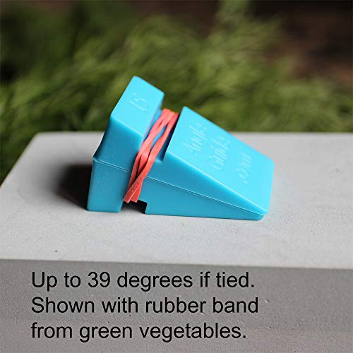Wedgek Angle Wedges Guides for Sharpening Knives on Stone, Blue