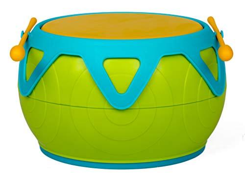 Halilit- HL817, Giocattolo Musicale Tropical, Colore: Verde, Blu e Giallo
