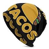 AEMAPE Beanie Hat, You Had Me at Tacos Gorra acrílica con Calavera - Gorro de...