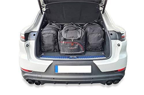 KJUST Reisetaschen 4 STK kompatibel mit Porsche Cayenne Coupe HYBRID III 2020 -