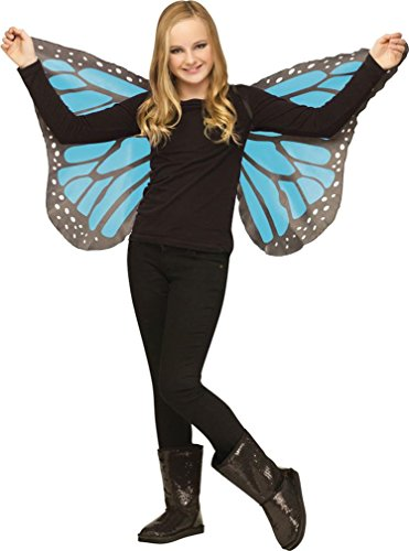 Wings Butterfly Soft Child Blu