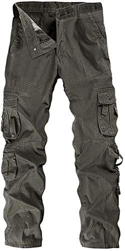 Pantaloni Uomo Vintage Cargo da Pantaloni Pantaloni Essenziale Trekking all'Aria Aperta Pantaloni Zip off Pantaloni Pantaloncini Estivi con La Cinghia Luce Rapida Essiccazione