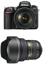 Nikon D750 FX-format Digital SLR Camera w/ 24-120mm f/4G ED VR Auto Focus-S NIKKOR Lens with AF-S NIKKOR 14-24mm f/2.8G ED
