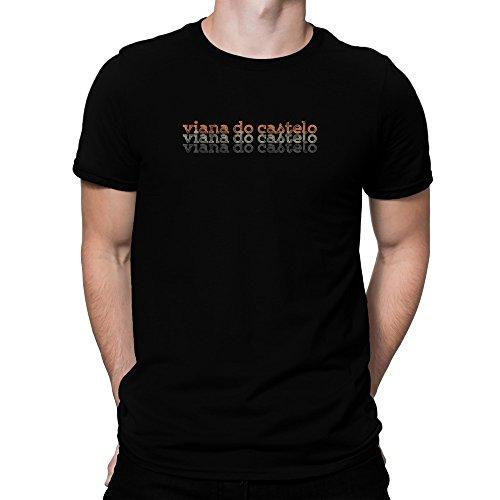 Teeburon Viana Do Castelo Repeat Retro Camiseta
