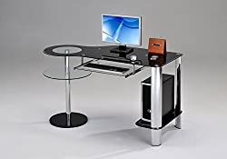 Kings Brand Furniture glass desk top