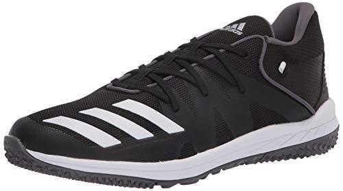 adidas Boys' Speed Turf Sneaker, Black, 9.5 M US