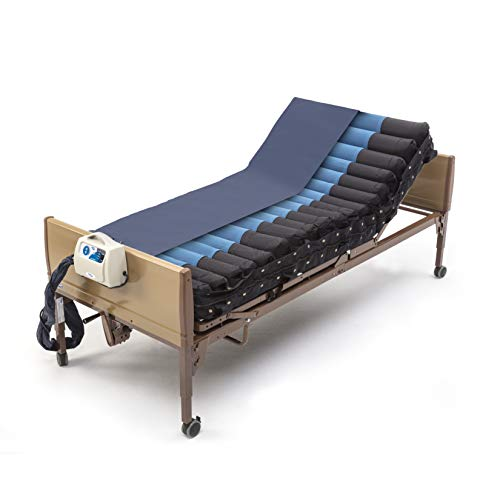 Invacare microAIR Alternating Pressure Low Air Loss Mattress System, 350 lb. Weight Capacity, MA500