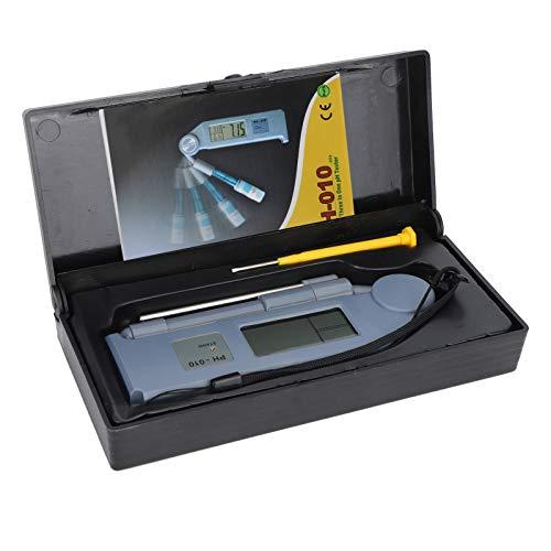 Germerse PH-Stift, tragbares PH-Messgerät Digitales PH-Messgerät, Elektrodeninduktionssonde Pen-Typ Wasserqualitätstester Teich für Aquarium Schwimmbad Aquarium