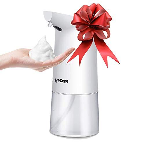 HyeGene Premium Automatic Foaming Soap Dispenser | 12oz / 350ml | Infrared Motion Sensor, Hand Soap Dispenser Automatic for Kitchen Sink, Bathroom, Laundry, Hotel, Restaurant