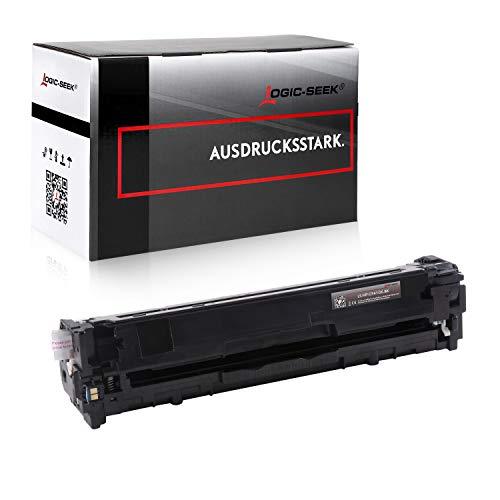 Logic-Seek® XL Toner kompatibel zu HP CF410X 410X für HP Laserjet Pro M452 DN/dw/nw M470 M477 fdn/fdw/fnw M450 M377 dw - 410X - Schwarz 6.500 Seiten