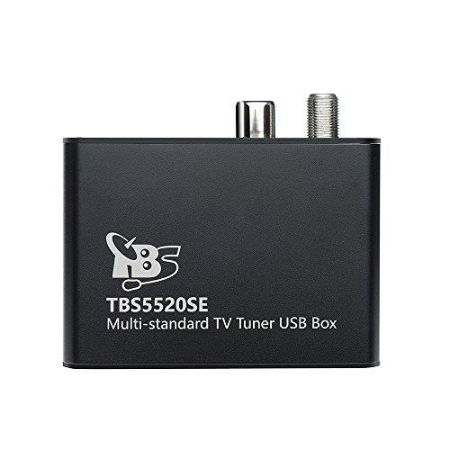 TBS 5520SE DVB-S2X/ S2/ S/ T2/ T/ C2/ C/ ISDB-T Digital TV Tuner USB Box for Live TV/ Window/ Linux/ HTPC/ IPTV Server